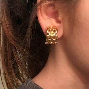 Vintage Christian Dior earrings!