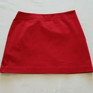Adorable Red Express Mini Skirt