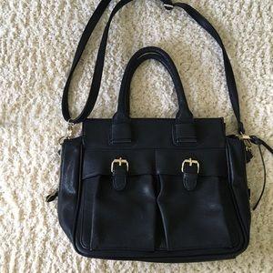 Simple black purse