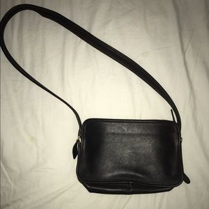 Vintage Coach Bag - Dark Brown