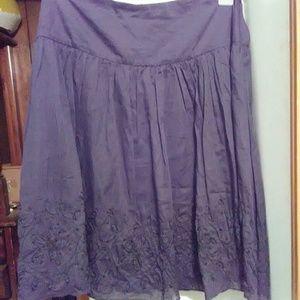 Ladies black skirt-