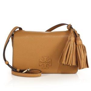 Tory Burch Thea Mini Leather Crossbody Bag