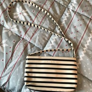 Kate Spade striped crossbody bag!