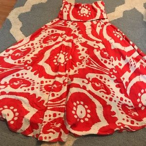 J. crew printed skirt, size small