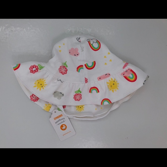 762cce8baa6 NWT Gymboree Newborn Essentials Rainbow Sun Hat