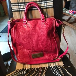 Marc by Marc Jacobs red purse buttery soft leather