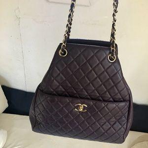 CHANEL Drawstring Handbag