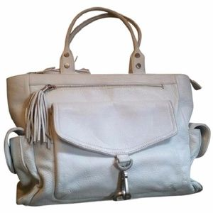 Via Spiga Handbag Auth Double Handle Leather Tote