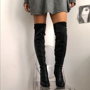 e9186785698 Dkny Over the Knee Boots for Women