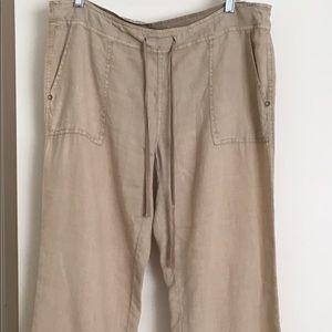 Pants - Women's Michael Stars 100% Linen Pants, Size M