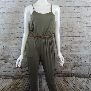 Pants - Olive Green Jumpsuit