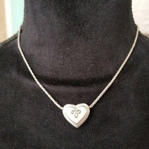 Reversible Brighton Heart Necklace
