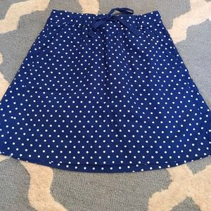 J. Crew cotton skirt, size 0