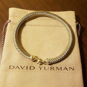 David Yurman Buckle Bracelet 925 5mm