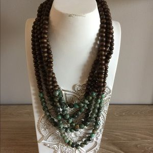 Evereve multi strand necklace