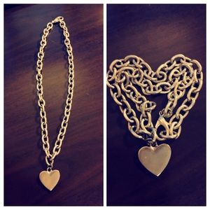 Silver Heart ❤️ Chain Necklace