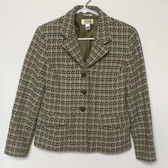 3a5f72f5f Women's Italian made Talbots Tweed Jacket. M_59ee5292713fde23ea0ec948