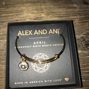 April birthstone Alex and ani! With tag and box🔥