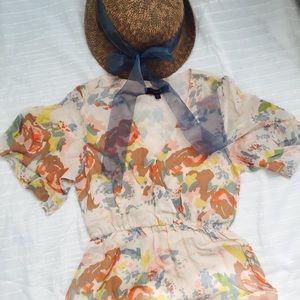 Adorable pastel anthropologie dress