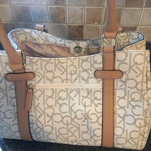 Calvin Kline purse-worn once