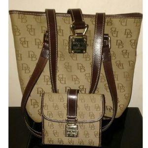 Dooney & Bourke Bucket Bag & Wallet Set