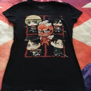 NEW HotTopic Attack On Titan Anime T-Shirt