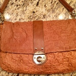 Marc Jacobs clutch with strap