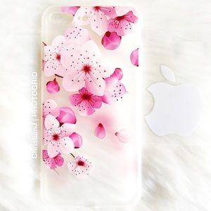 Accessories - IPHONE 7PLUS/8PLUS 3D PAINTING CASE FLOWERS