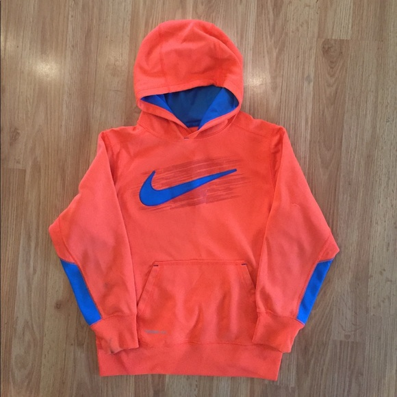 bfa2238f Nike Shirts & Tops | 5 For 25 Boys Hoodie Sweater Size M Orange ...