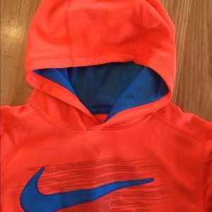 16ae7f5a Nike Shirts & Tops - 5 for $25 Boys Nike hoodie sweater size m orange