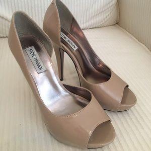 Steve Madden Emele Nude heels