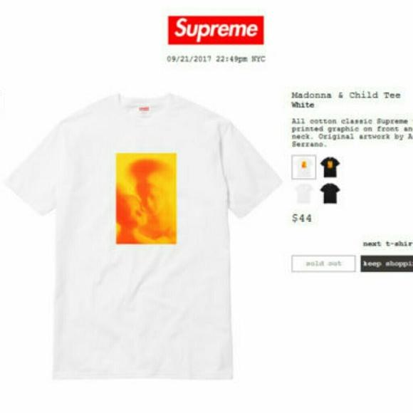 a8fa27fa Supreme Shirts | Madonna And Child Tee | Poshmark