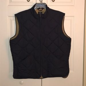 ❗️FINAL❗️OBO - J. Crew Zipper Vest - Never Worn