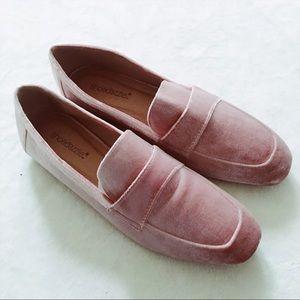 Velvet Blush Loafers
