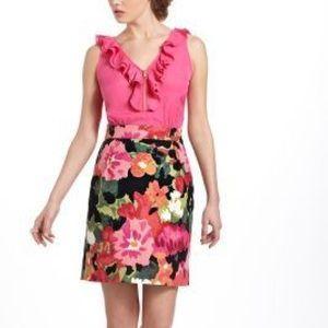 Tabitha Petite Pink Zip Floral Dress