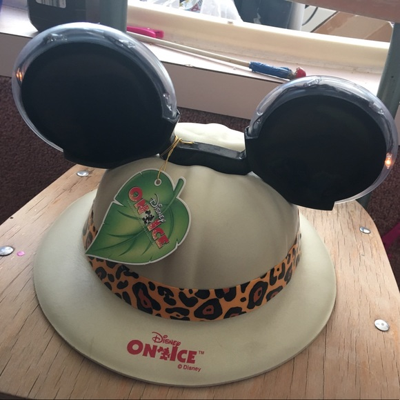 e01cd906b5808 Mickey mouse safari hat with light up ears