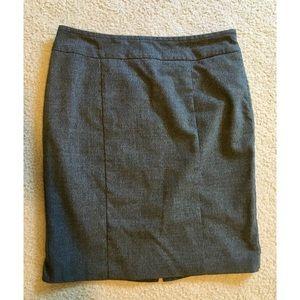 Apt. 9 Gray Career Pencil Skirt, 10