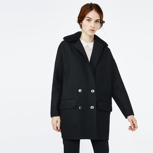 🎉FLASJ SALE🎉Maje Garnison Wool Double Face Coat