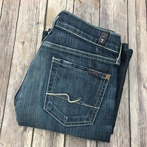 7 For All Mankind Jeans 25 Boot Cut Stretch