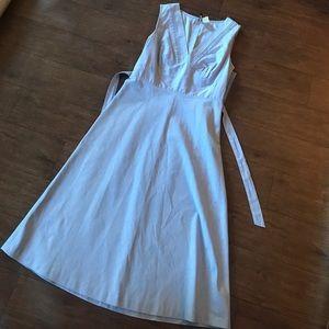JCREW PERIWINKLE BLUE sleeveless dress Sz 4