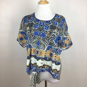 Clover Canyon open shoulder blouse