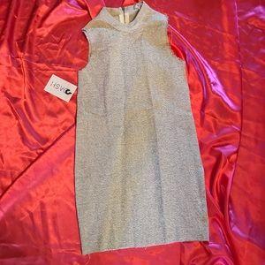 NWT Asilio  Mock Neck Raw Hem Mini Dress SZ 2