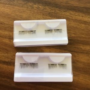 2 pairs 3D natural extension magnetic eyelashes