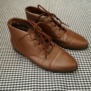 Vintage Danexx Brown Leather Boots