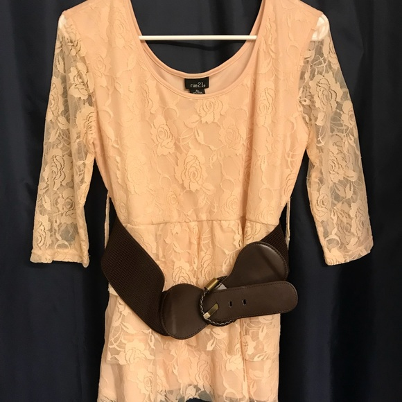 Rue 21 Tops - Blush Lace Top