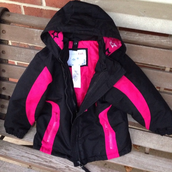 PINK Wonderkids Girls Toddler Winter Coat Jacket Size 2T  4T Water Resistant NWT