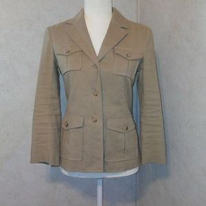 NWOT Theory Shelly Style Safari Jacket 6