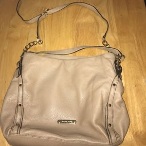 Mint Condition Taupe Leather Michael Kors Bag