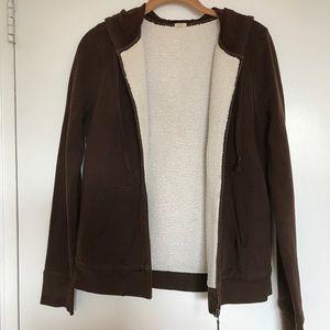 Jcrew zip up hoodie