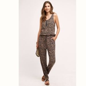 NWT Anthropologie Chione Printed Jumpsuit by Tiny